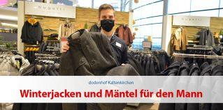 Winterjacken und Mäntel für den Mann